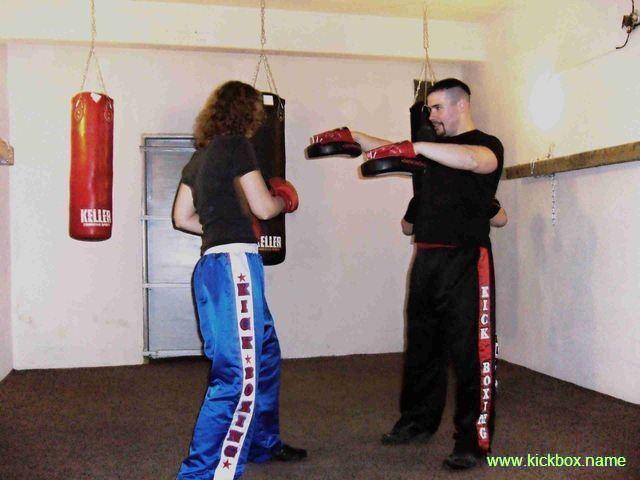 kickboxerka na lapy