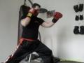postoj v kickboxu